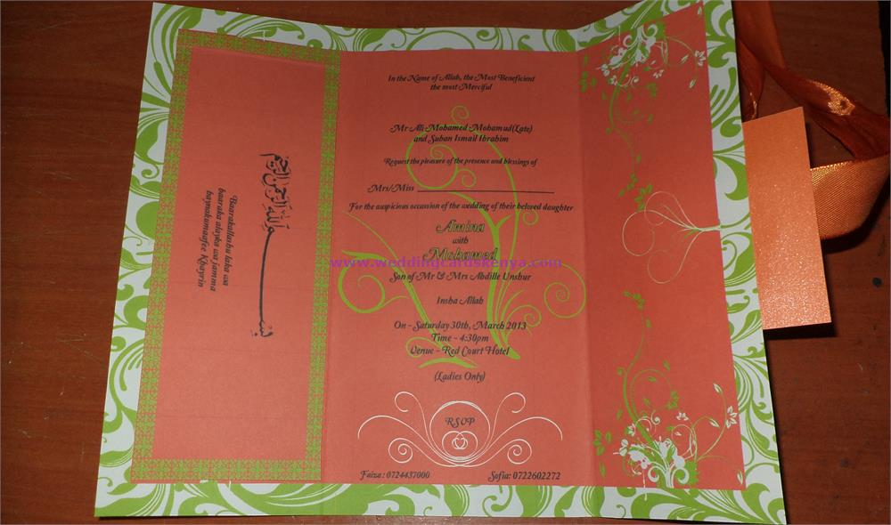 Best Wedding Invitations Cards in Kenya | VisualDo Media & Cards