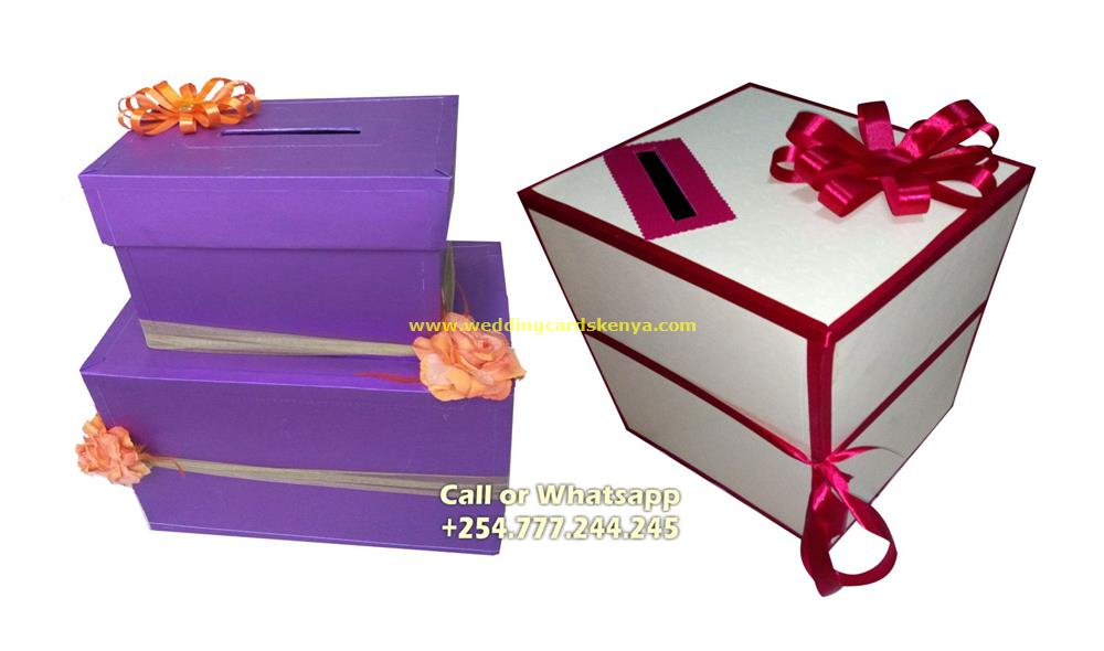 Envelope Deposit Box (Money gift box)
