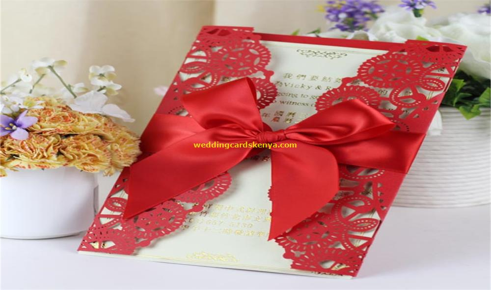 Wedding Invitations Cards Supplier in Kenya