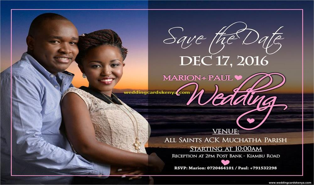 Kenya Best Wedding Cards Photographers And Videography