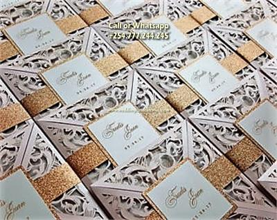 Laser Cut Wedding Cards