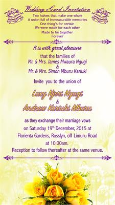 Wedding eCard Invitations