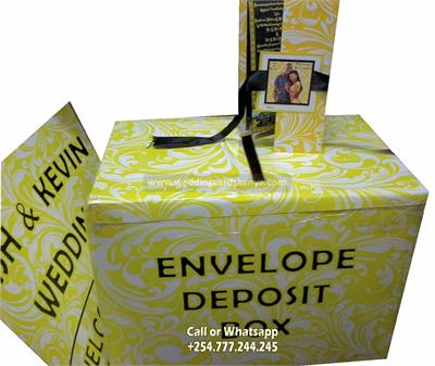 Envelop Deposit Box Money Gift Box