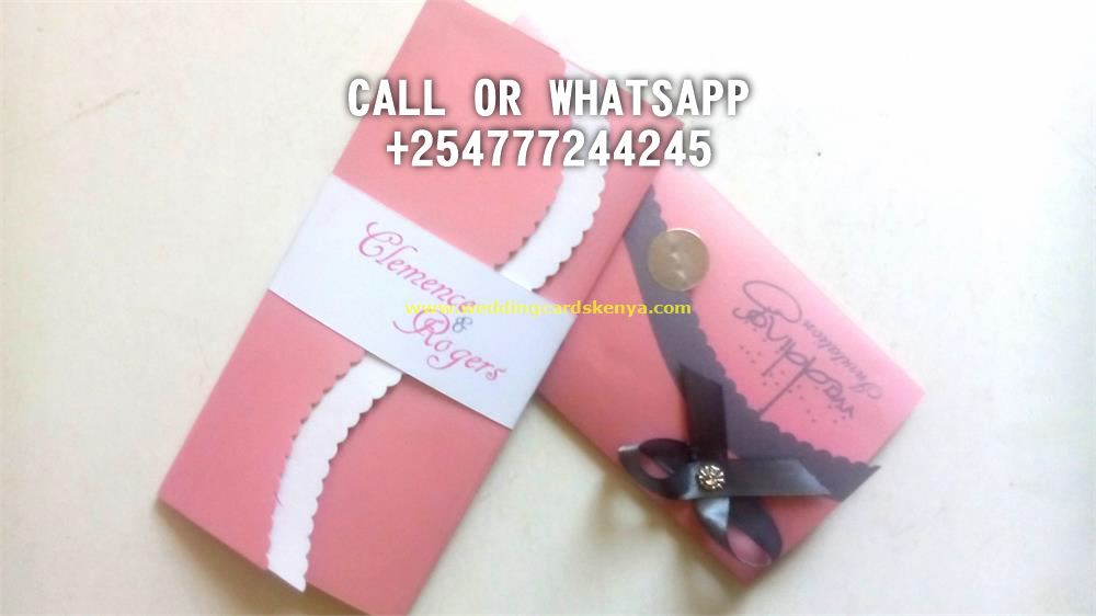 DOUBLE A4 FOLD PINK WHITE