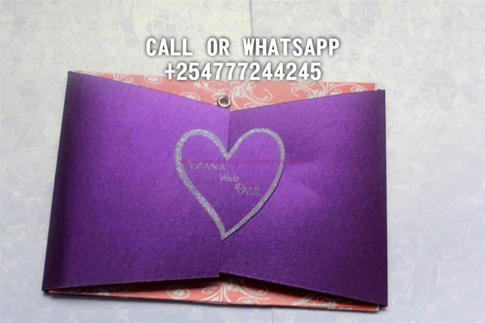 DOUBLEFOLD HEART PURPLE