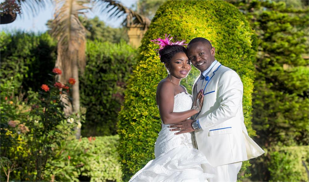 CAROL and MIKE LOVE STORY WEDDING at EDEN BLISS GARDENS NAIROBI